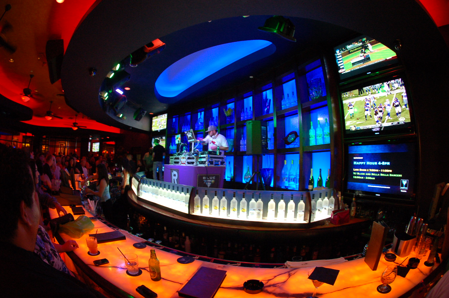 Blue_Martini_nightclub_american_vacation_living_orlando - disney